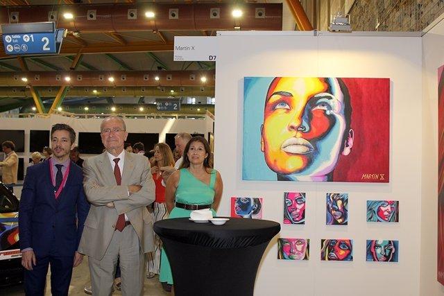 """El Alcalde De Málaga Inaugura Art Fair Málaga '17, Una Oportunidad Para """"Conocer"""