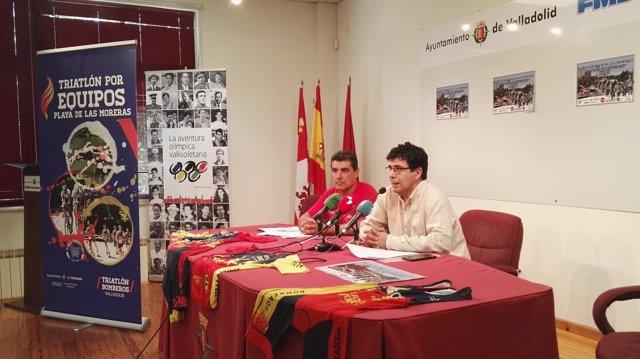 Valladolid. Presentación IV Acuatlón y Triatlón por equipos