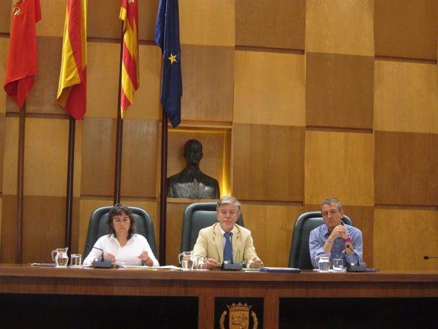 Pleno del Ayuntamiento de Zaragoza.