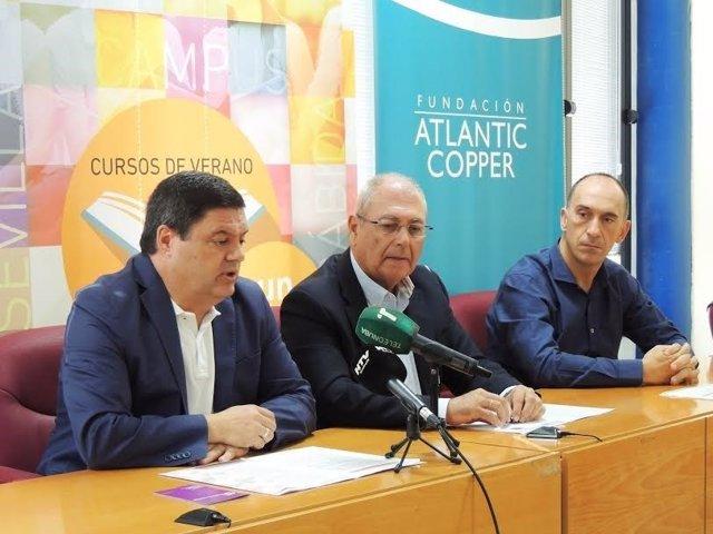 UNIA y Atlantic Copper presentan cursos de la UNIA.