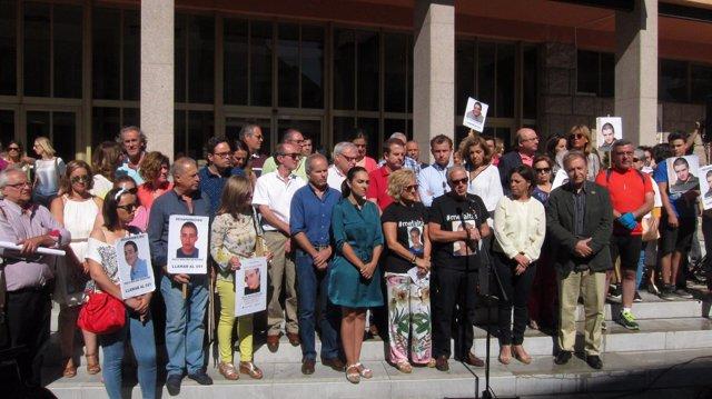 Concentración por el desaparecido Paco Molina en Córdoba