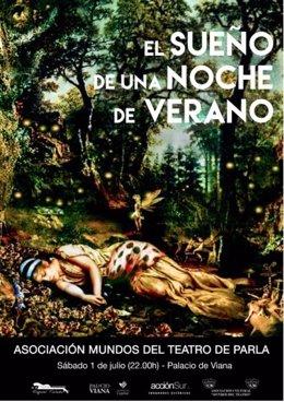 Cartel de la representación de 'El sueño de una noche de verano'