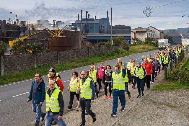 Marcha por Ferroatlántica