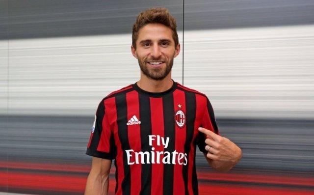 Fabio Borini, nuevo jugador del AC Milan