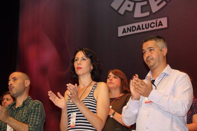 Eva García Sempere, presidenta del XII Congreso del PCA