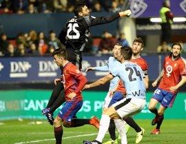 Osasuna finaliza su relación contractual con nueve futbolistas