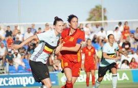 España golea a Bélgica (7-0) en su último amistoso antes del Europeo femenino