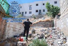 La Policía Nacional detiene a dos hombres por tirotear una vivienda en Jaén capital