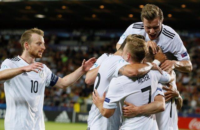 Alemania anula a España y conquista el la Euro Sub-21