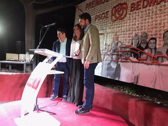 Susana Díaz, Premio Socialista del PSOE de Bedmar