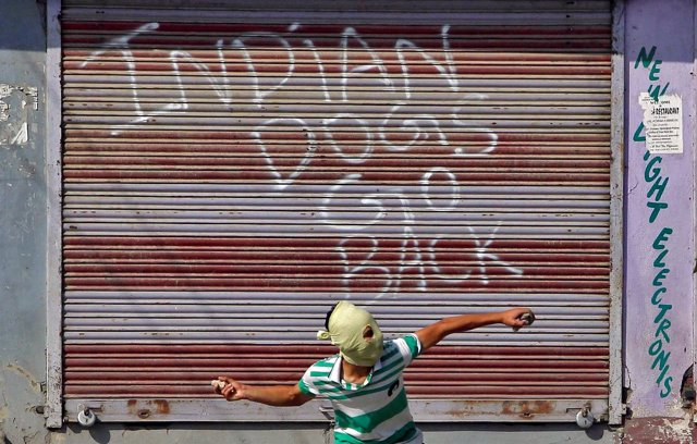 Disturbios en la Cachemira india