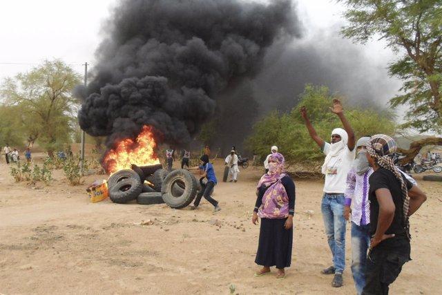 Enfrentamientos en Kidal (Malí)