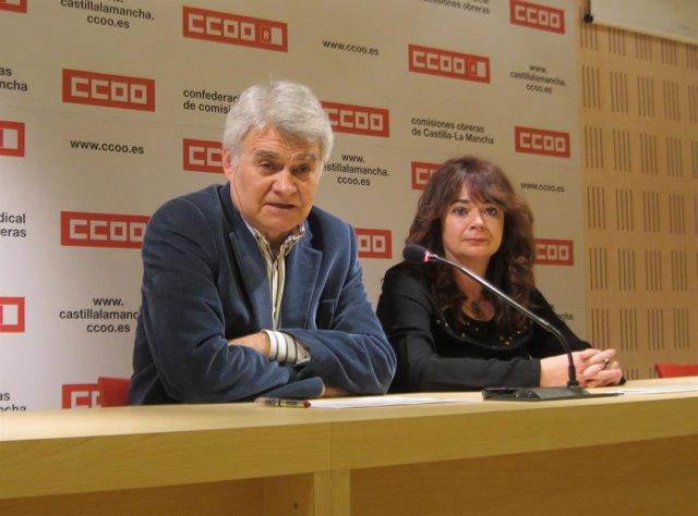 Jose Luis GIl y  Lola Santillana