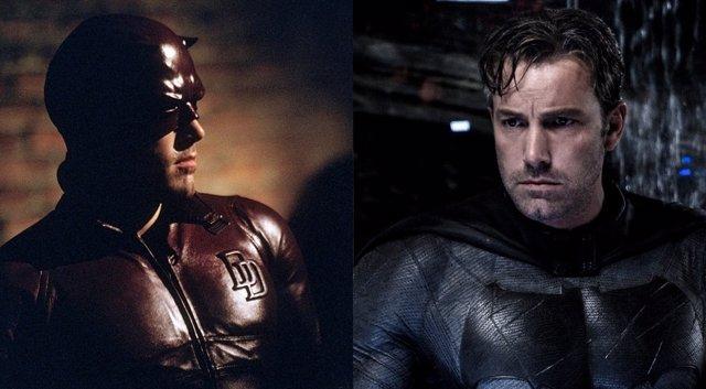Ben Affleck es Daredevil y Batman