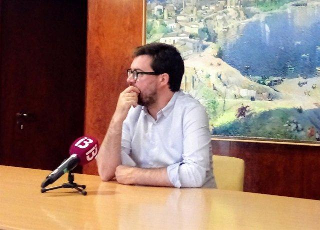 Antoni Noguera Tras Su Primera Reunión Como Alcalde De Palma