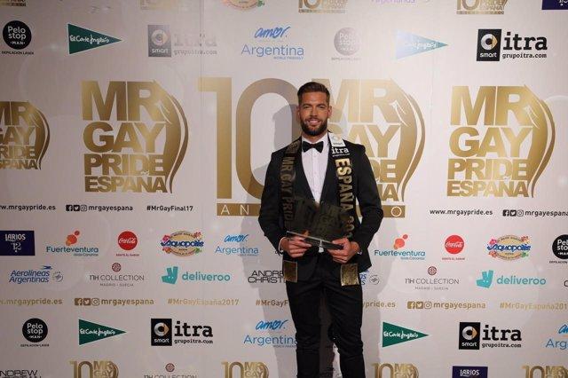 Ricardo Tacoronte, Mr Gay Pride España 2017