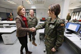 """El Gobierno cree que el número de mujeres en el Ejército ha llegado a un """"techo sociológico"""""""