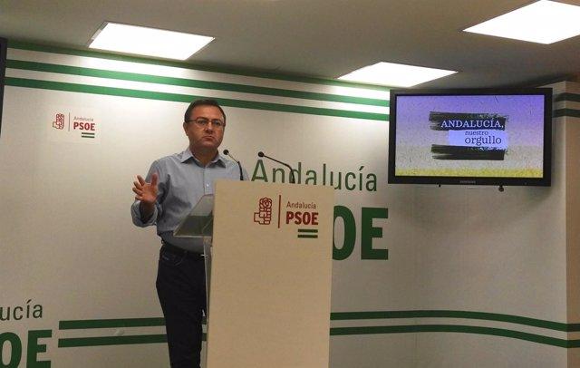 El diputado socialista Miguel Ángel Heredia