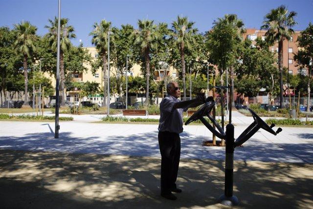 Actividades en el parque Juan Antonio Cavestany de Sevilla