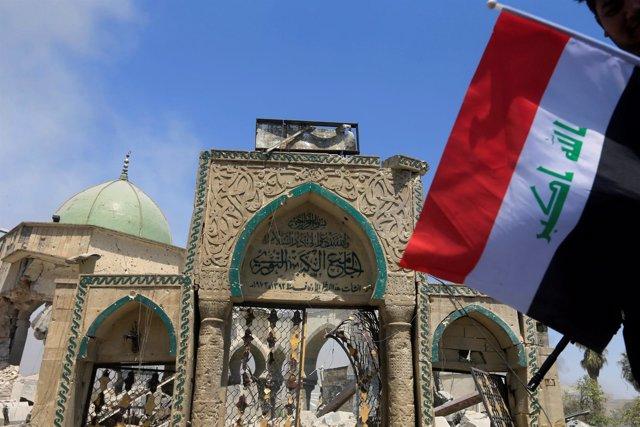 Mezquita de Al Nuri en Mosul