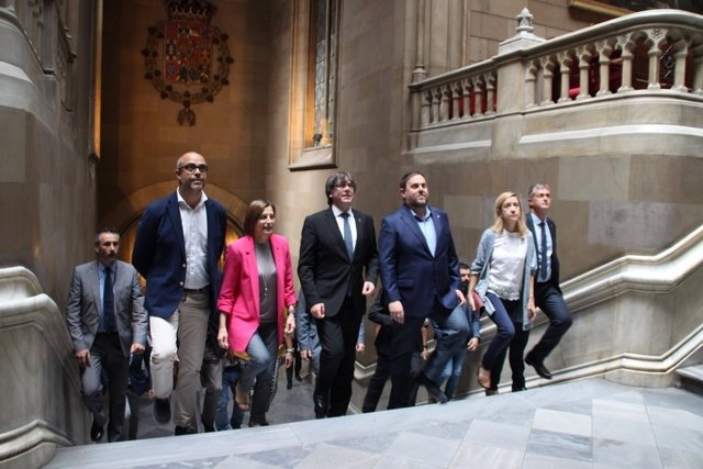 M.Buch,C.Forcadell,C.Puigdemont,O.Junqueras,N.Lloveras
