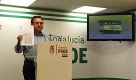 """Heredia (PSOE) critica que el Gobierno pida a 24.000 estudiantes andaluces devolver becas y los """"recortes"""" en la cuantía"""