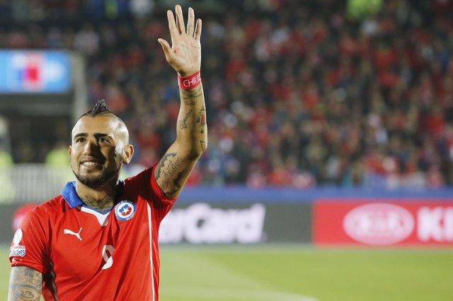Chile Arturo Vidal Copa América 2015