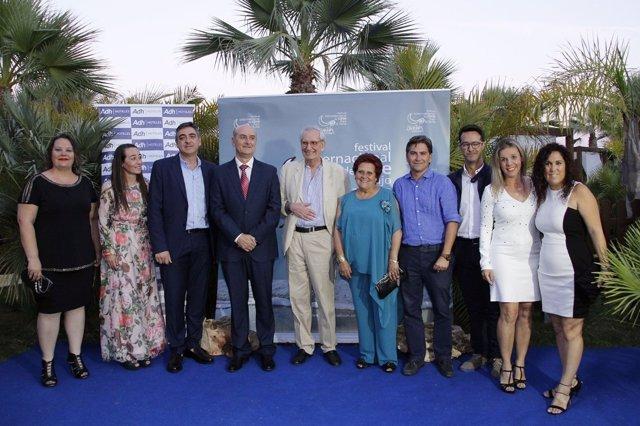Gala de inauguración festival de cine de Islantilla