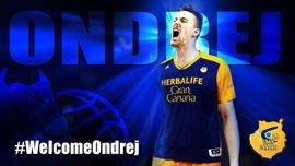 Ondrej Balvin, nuevo jugador del Herbalife Gran Canaria
