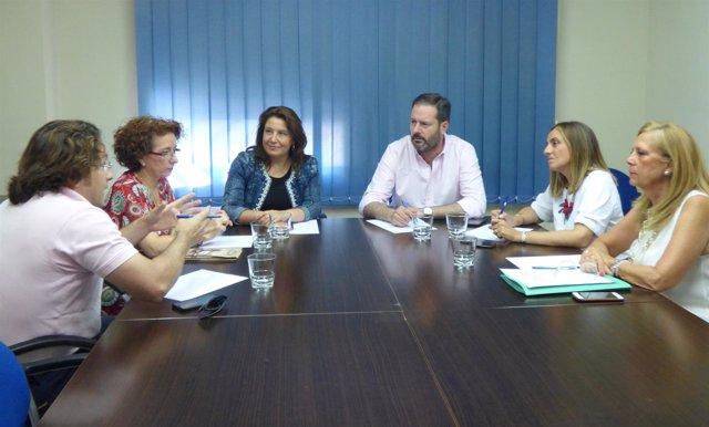 Encuentro del PP en Córdoba con la patronal de escuelas infantiles