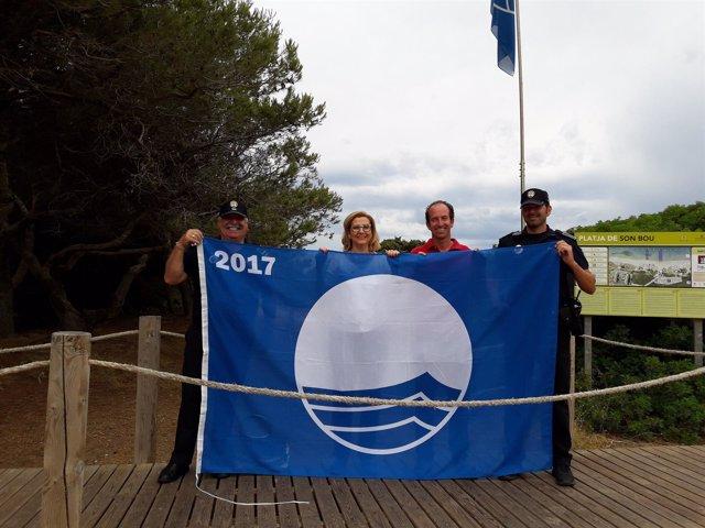 Bandera azul playas Alaior