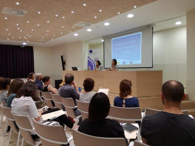 Jornadas financiación proyectos europeos culturlaes