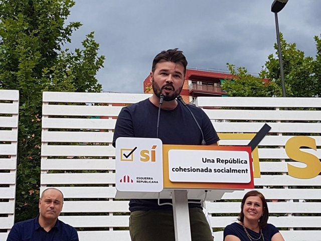 Gabriel Rufián, ERC