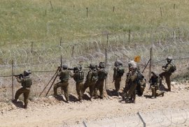 Dos proyectiles perdidos caen en los Altos del Golán sirios ocupados por Israel