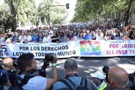 Tres casos graves entre los atendidos por Emergencias durante la manifestación del WorldPride en Madrid