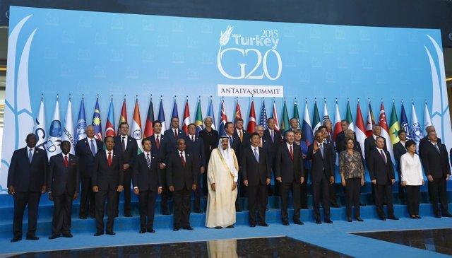 Líderes del G20