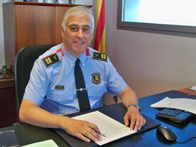 El nuevo comisario jefe de Mossos en Barcelona, Joan Portals