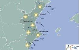 Predicción de sol para esta jornada