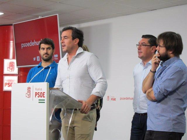 El alcalde de Bollullos Par del Condado (Huelva), Rubén Rodríguez.