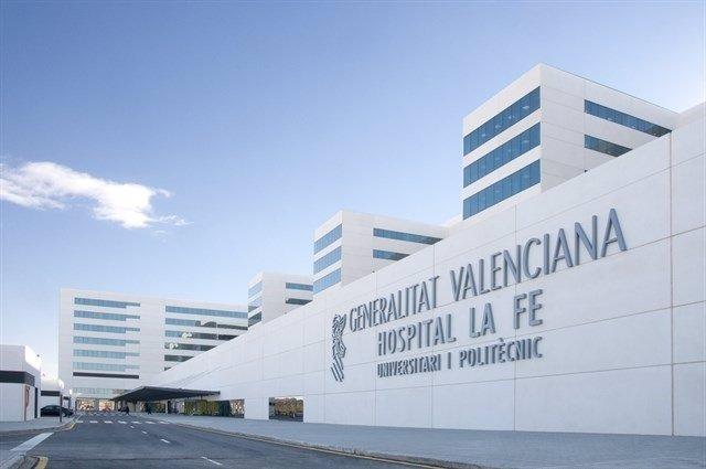 Imagen de archivo del Hospital La Fe de València