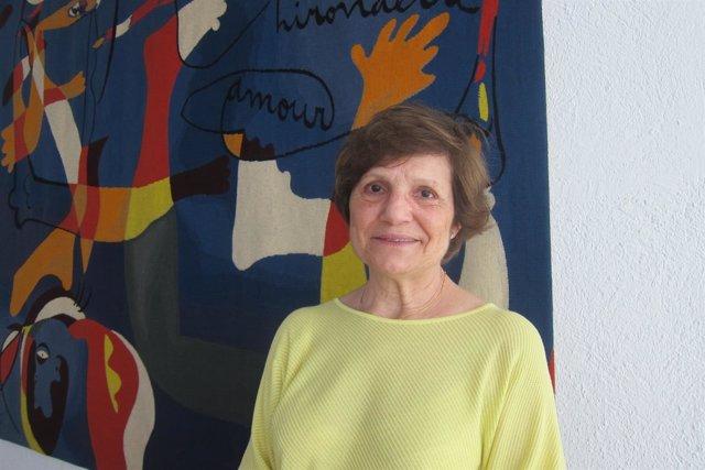 La directora de la Fundació Joan Miró, Rosa Maria Malet