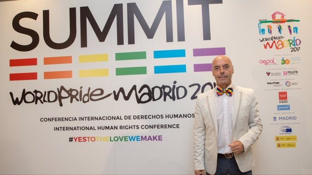 Hurtado en la Interparlamentaria en el World Pride Madrid 2017