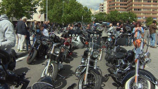 Concentración de motos