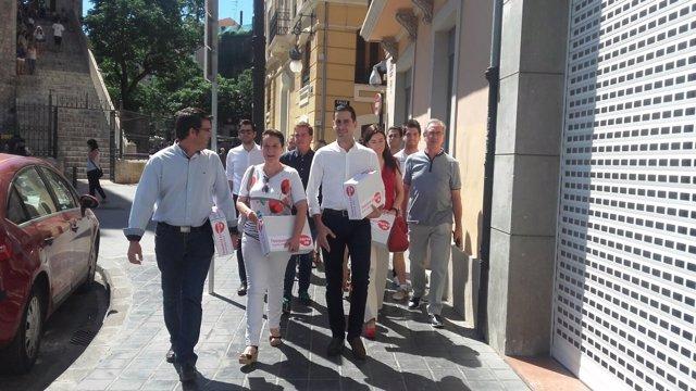 El presidente de la Diputación ha llevado los avales a Blanqueries