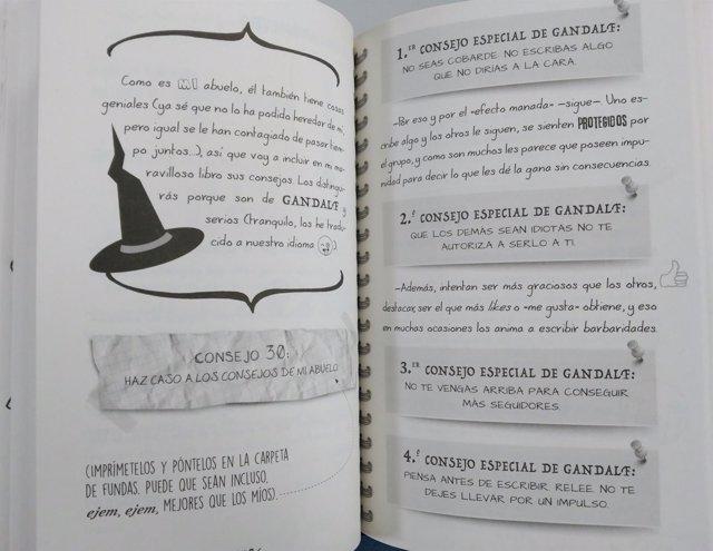 Libro '75 consejos para sobrevivir a las redes sociales', de María Frisa
