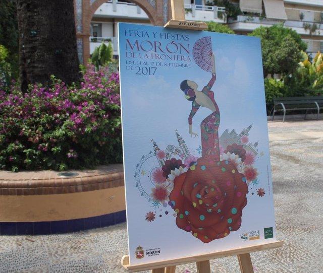 Cartel de la Feria de Morón 2017