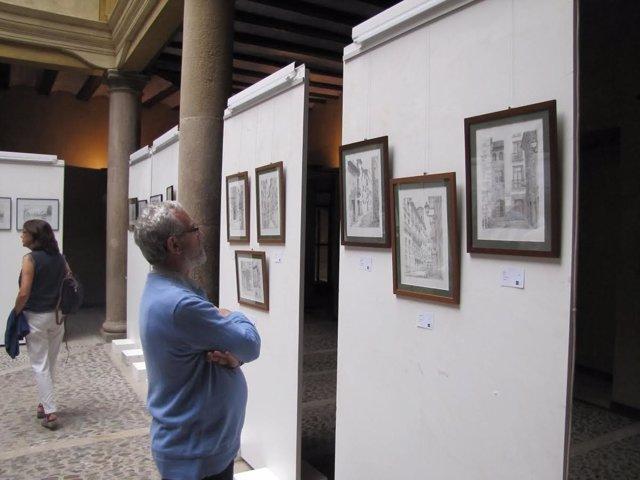 Exposición de Alberto Sola en la UNED de Tudela