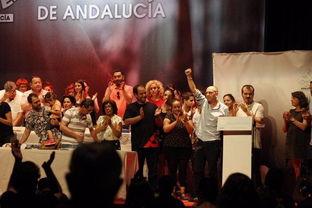 Ernesto Alba, nuevo secretario general del PCA