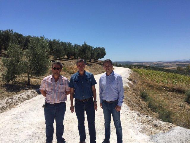 Diputación de Córdoba entrega obras en caminos rurales