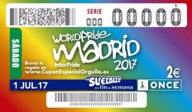 El cupón de la ONCE del Día del Orgullo reparte 340.000 euros entre Granada y Málaga